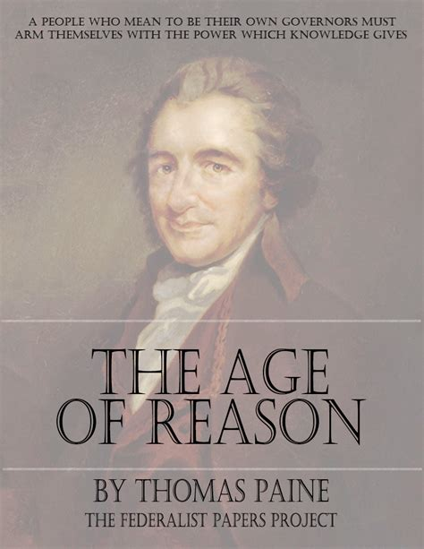 age of reason books the age of reason by paine