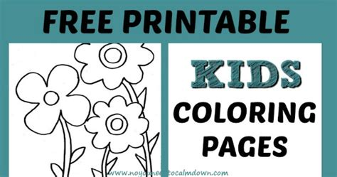 colors free printables no you need to calm down coloring pages for kids free printables no you need