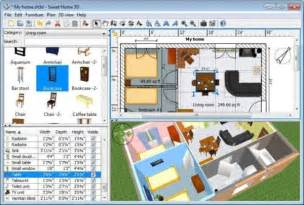 Free Home Decorating Software by Sweet Home 3d Free Interior Design Software For Windows