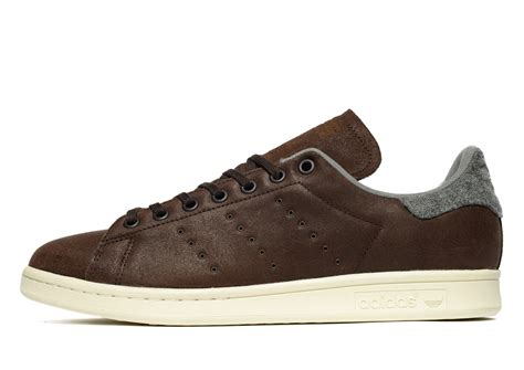 Adidas Stan Smith Winter lyst adidas originals stan smith winter in brown for