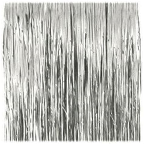 amazon com 18 quot silver tinsel icicle strand garland