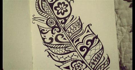 henna tattoo richmond va henna feather my black and white drawings pinterest