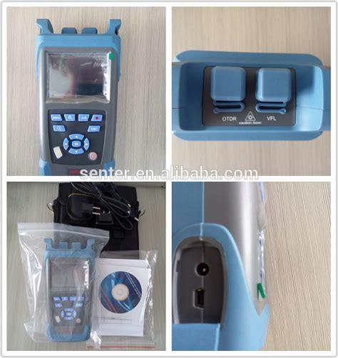 Senter Fiber Optic senter st3200 fiber optical otdr tester handheld ftth otdr