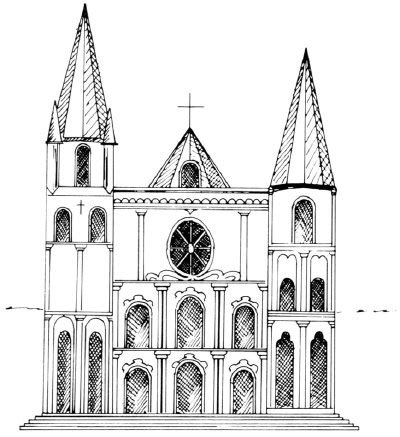 easy to draw architecture how to draw cathedrals howstuffworks