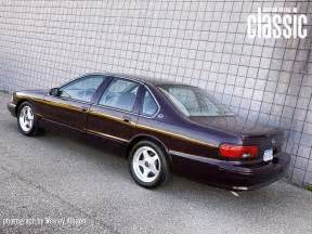 1996 Chevrolet Impala Ss 1996 Chevrolet Impala Ss Rear Photo 3