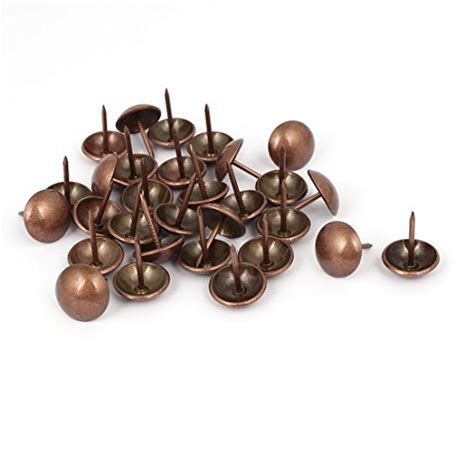 copper upholstery tacks uxcell household 16mm dia iron round domed head upholstery