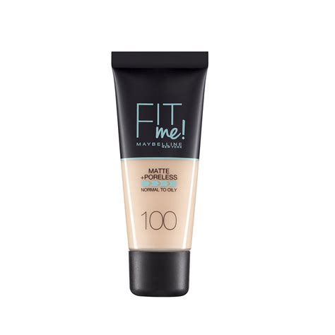 Maybelline New York Matte Poreless Fit Me Foundation k 246 p maybelline new york fit me matte poreless foundation