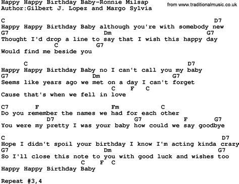 happy lyrics lyrics to happy birthday my