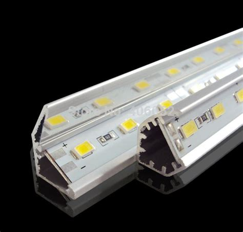 Led Lights Strips 12 Volt 10pcs Smd5730 Led Bar Light 12 Volt Rigid Aluminum Led 36leds 0 5m With V Shaped Aluminum