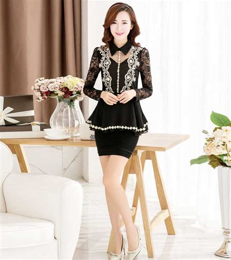 Atasan Blouse Muslim Wanita Dress Bagus Modern Ah00033 Murah Grosir model baju blouse wanita terbaru 2015 untuk kerja bahan
