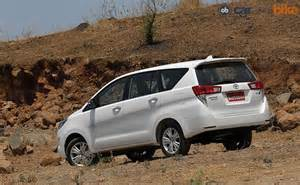 new innova car price in india new toyota innova crysta launched price starts at rs 13