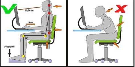 postura corretta da seduti dalla sedie ergonomiche alle postazioni zero gravity