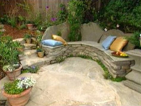 stone patio bench rustic wooden stone garden benches