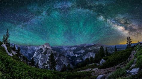 God Of Brilliant Lights Yosemite Wallpapers Wallpaper Cave
