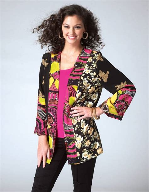 Patchwork Kimono - m7132 patchwork kimono jacket pattern