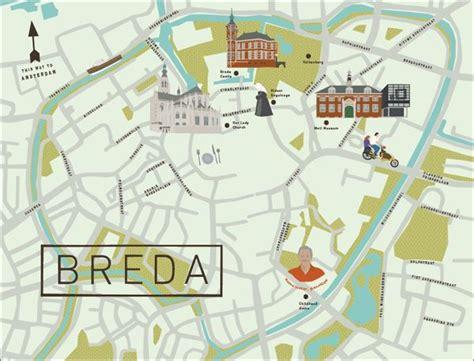breda netherlands on map breda map the netherlands see creative map