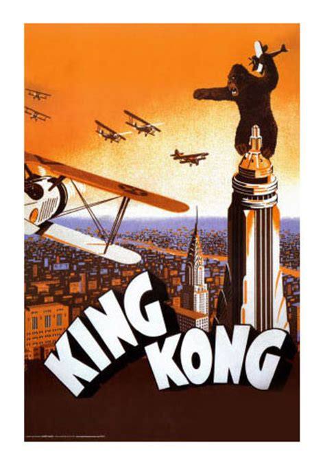 king kong classic  poster home theater mart