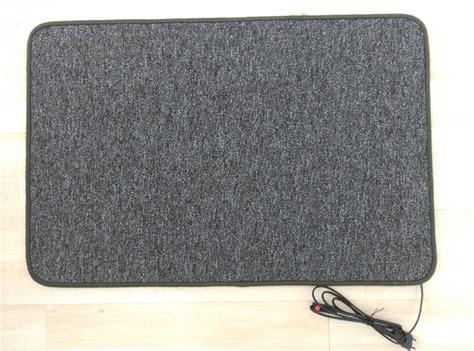 alfombra electrica calefactora alfombra electrica calefactora 60 215 90 cm 150 w gris