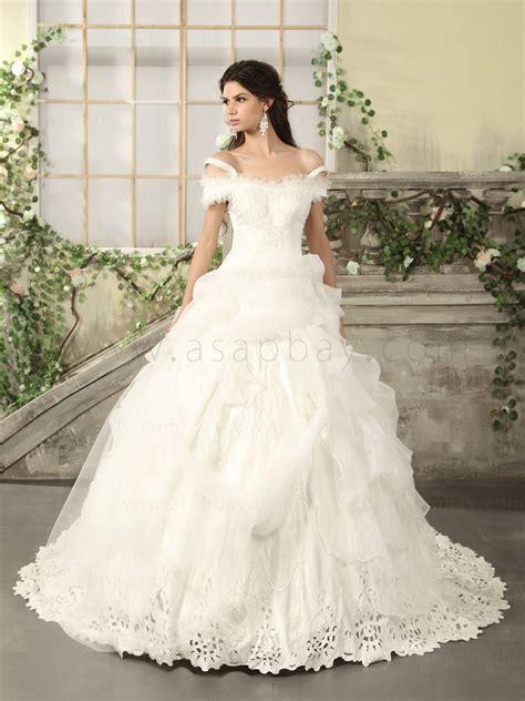 Mormon Wedding Dresses Princess Floor Length Wedding Dress With Straps Sang Maestro