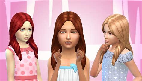 the sims 4 hair kids my stuff oblivion hair for girls