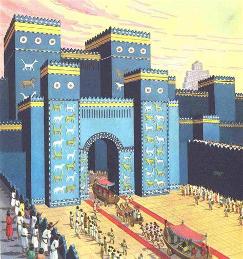 i giardini pensili di babilonia versione caldei