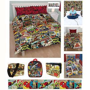 marvel curtains uk official marvel comics bedding and bedroom accessories