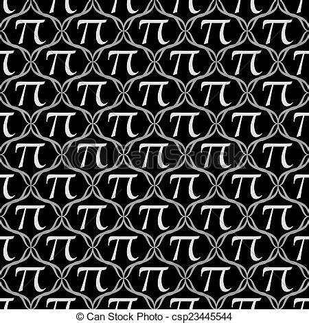 pi pattern finder stock photo of black and white pi symbol repeat pattern