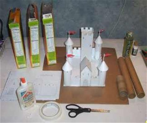 How To Make A Paper Castle By Steps - 25 best ideas about times on