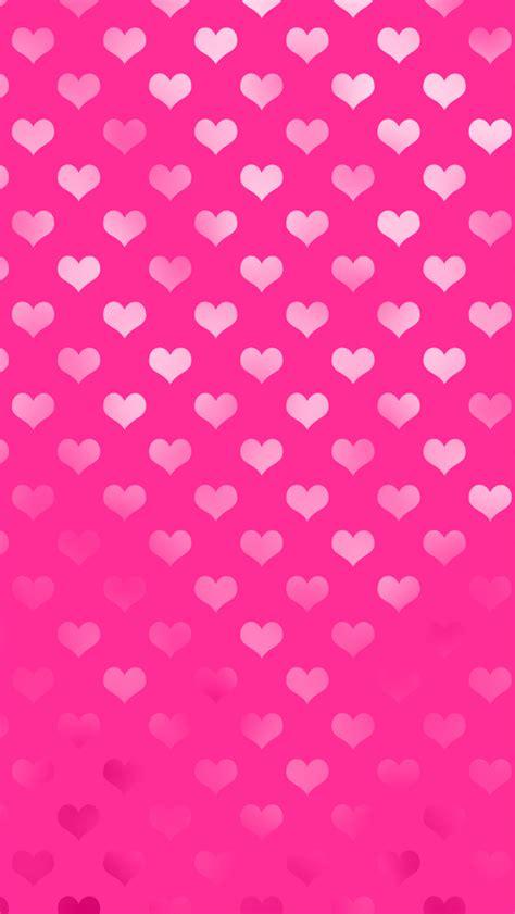 valentine wallpaper pinterest free valentine pink metallic hearts iphone wallpaper