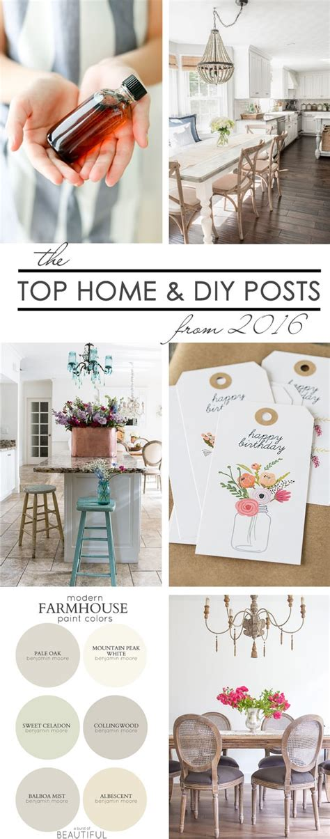 home decor diy trends the best diy projects and decorating tips of 2016 maison de pax