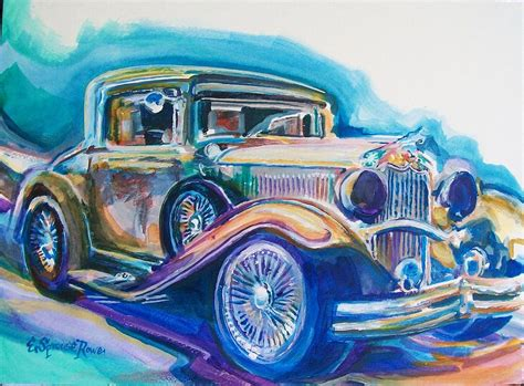 painting for cars one of dr b s cars painting by sprouse rowe