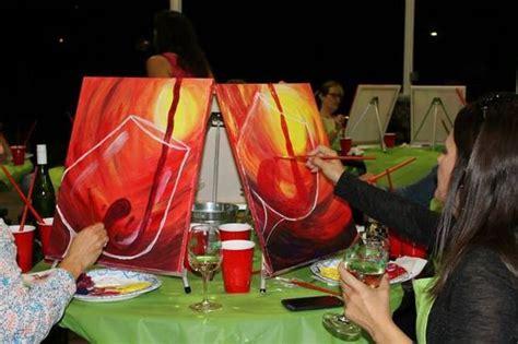 paint nite syracuse paint nite syracuse celebrates one year in business