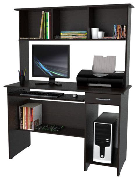 Computer Workcenter With Hutch Modern Desks And Hutches Modern Computer Desk With Hutch