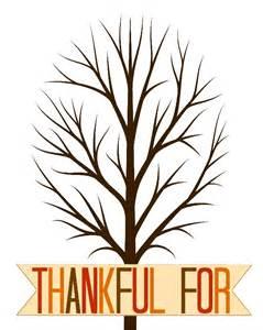Thankful Tree Template thankful tree printable