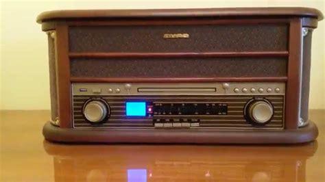 More Retro Radio Goodness From Eton by Auna Epoque 1908 Retro Stereoanlage