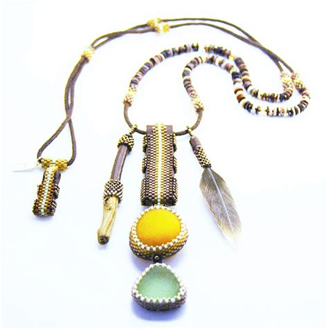 Handmade Beaded Necklaces For Sale - ezartesa handmade jewelry designer beaded fashion