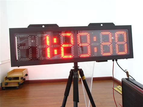 outdoor christmas countdown digital clock large outdoor led countdown clock outdoor in led displays from electronic