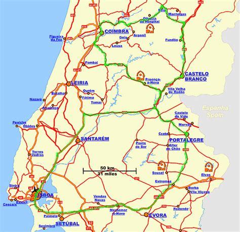 portugal pousadas map pousadas of portugal touring unlimited lisbon coast and