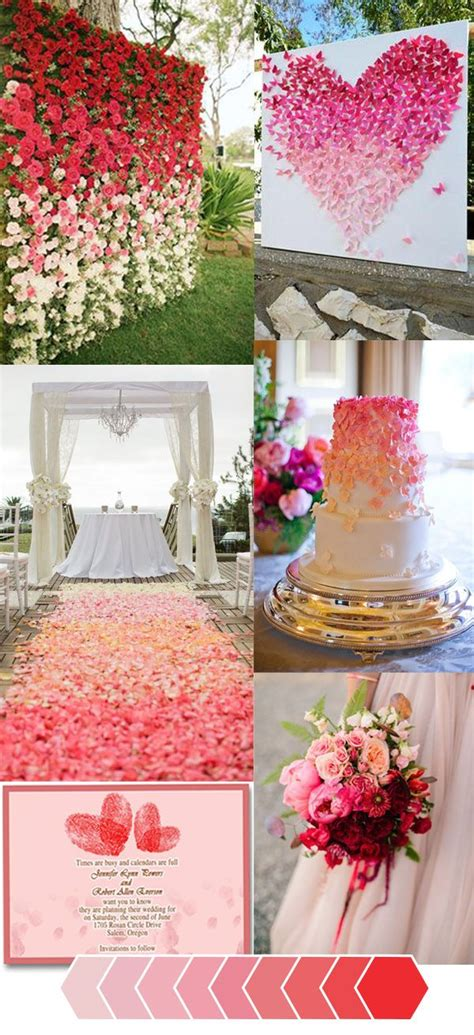 how to make your wedding color unique in an ombr 233 theme tropical inspired wedding themes