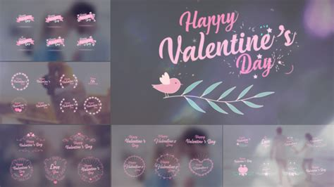 dafont infinite stroke valentine s day badge pack special events after effects