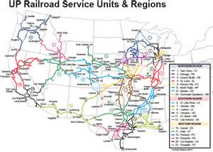 union pacific railroad map map of union pacific railroad lines pictures to pin on