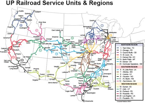 union pacific railroad map texas up maps of the union pacific