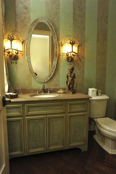Powder Bath Vanity Crafted Powder Room Vanity By Design