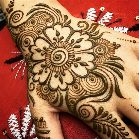 flower design mehndi simple flower mehendi design for girls fashionexprez