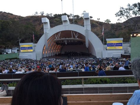 hollywood bowl section g2 section g2 row 4 seat 18 yelp