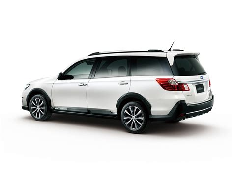 Subaru Introduces Exiga Crossover 7 In Japan Carscoops Com