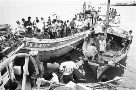 refugee boat from vietnam malcolm fraser s refugee policy no model for today