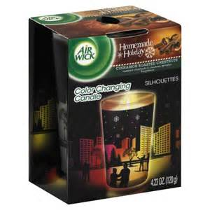 air wick color changing candle air wick silhouettes cinnamon roasted chestnuts color