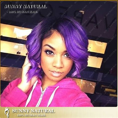 black women hairstyles sewing color purple purple hair on black women www pixshark com images