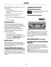 2014 ford fusion owner manual printing 1 page 61